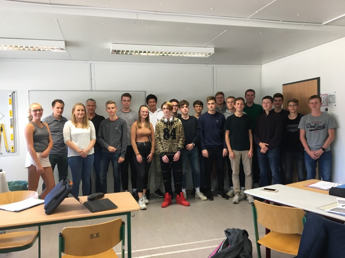 "Projektkurs ""Business@school"" 2019/2020"